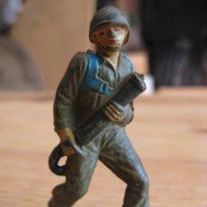 Figuras de Goma y PVC: MARINES DE INFANTERIA - GOMA SERIE 6CM JECSAN - 1960. Lote 50441113