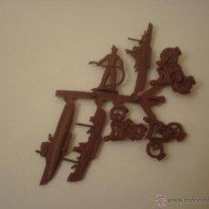 Figuras de Goma y PVC: COLADA DE FIGURAS DE HOBBY PLAST JUGUETES TIPO MONTAPLEX. Lote 50448846