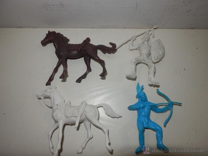 Figuras de Goma y PVC: LOTE DE INDIOS COMANSI PECH Y SIMILAR - Foto 2 - 50491119