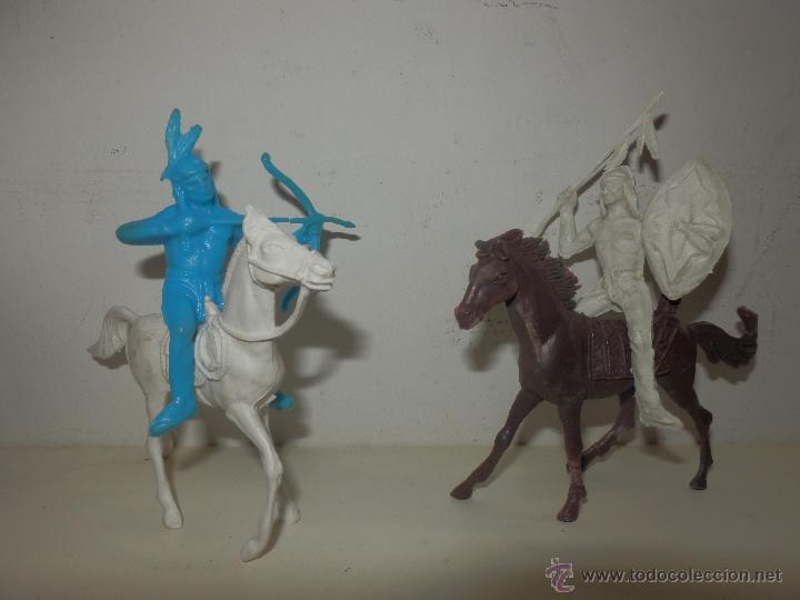 Figuras de Goma y PVC: LOTE DE INDIOS COMANSI PECH Y SIMILAR - Foto 5 - 50491119