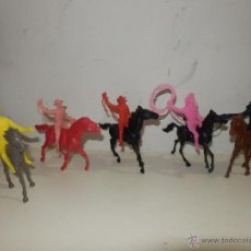 Figuras de Goma y PVC: VAQUEROS COMANSI. Lote 50491352