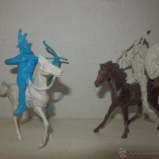 Figuras de Goma y PVC: LOTE DE INDIOS COMANSI PECH Y SIMILAR. Lote 50491119