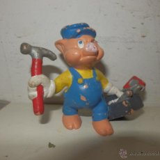 Figuras de Goma y PVC: FIGURA BULLYLAND AÑOS 80 LOS TRES CERDITOS. Lote 50495735