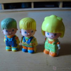 Figuras de Goma y PVC: LOTE DE ANTIGUOS PIN Y PON. Lote 50546756
