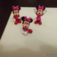 Figuras Kinder: LOTE DE FIGURAS PVC DE MINNIE,TIPO KINDER. Lote 50572965