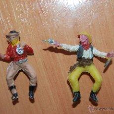 Figuras de Goma y PVC: LOTE 2 VAQUEROS OESTE. Lote 50610097