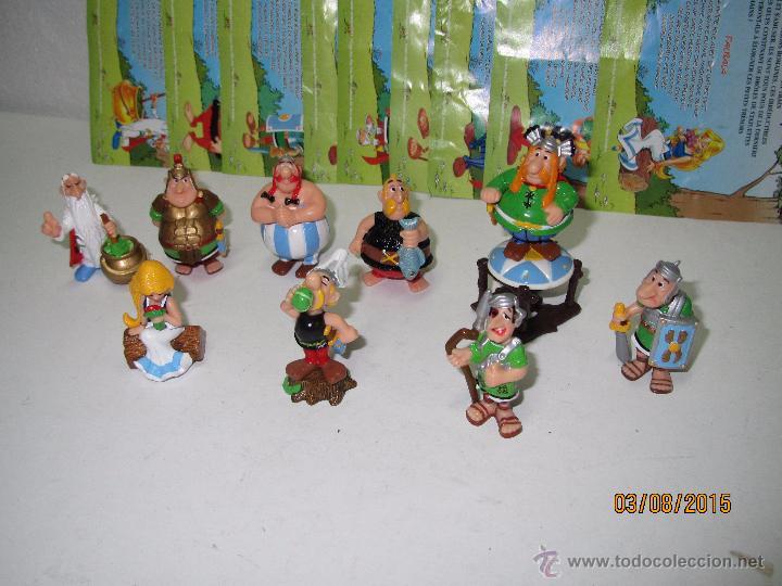 Figuras Kinder: Descatalogados Maletín de Chapa Litografiada, Folletos y Figuras ASTERIX Huevos KINDER - Año 2003 - Foto 4 - 50621452