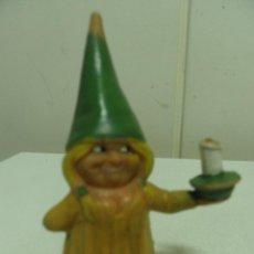 Figuras de Goma y PVC: FIGURA PVC LISA CON VELA DE LA SERIE DAVID EL GNOMO - AÑOS 80 - BRB. Lote 50721384
