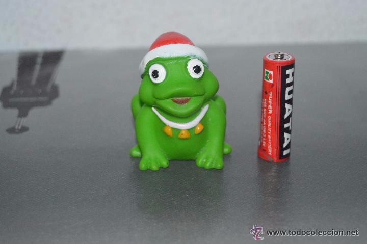 Fotos Simpaticas De Papa Noel.Muneco Figura Simpatica Rana Con Gorro Papa Noe Sold