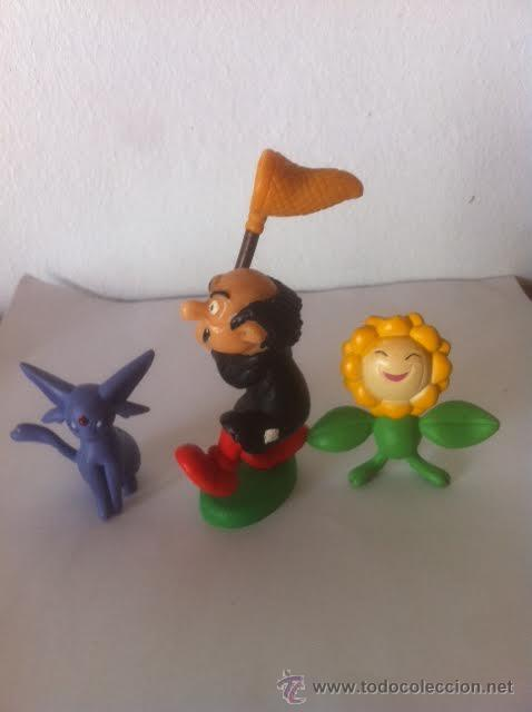 Figuras de Goma y PVC: Figura pvc comic GARGAMEL 1980 made Portugal Schleich y otras dos figuras. - Foto 2 - 50761514