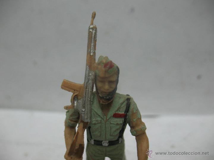 Figuras de Goma y PVC: Soldado de plástico español regional - Foto 2 - 50815613