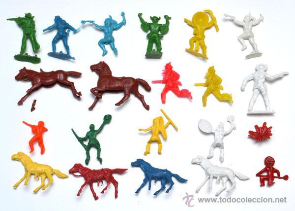 Figuras de Goma y PVC: Lote de desguace de kiosko, REAMSA, PECH, JECSAN, ETC. algunas en mal estado, ver fotos. - Foto 2 - 104401624