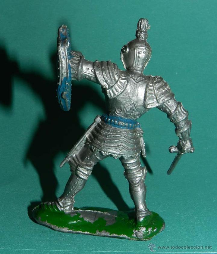 Figuras de Goma y PVC: LAFREDO, CABALLERO MEDIEVAL, GRANDE DE PLASTICO, MIDE 8,5 CMS. DE ALTURA - Foto 2 - 50922127