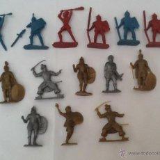 Figuras de Goma y PVC: LOTE DE FIGURAS VARIAS DE PLÁSTICO N.2 DUNKIN, PHOSKITOS. Lote 44271166