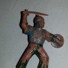 Figuras de Goma y PVC: REAMSA : FIGURA MEDIEVAL SARRACENO - GUERREROS DE BEN YUSUF - CID - AÑOS 60 - PLASTICO. Lote 51032722