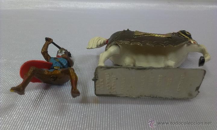Figuras de Goma y PVC: GUERRERO MEDIEVAL A CABALLO . STARLUX . AÑOS 60 - Foto 5 - 51049683