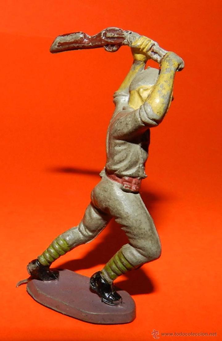 Figuras de Goma y PVC: SOLDADO JAPONES DE GOMA, PECH, TAL COMO SE VE EN LAS FOTOS PUESTAS. II GUERRA MUNDIAL - Foto 2 - 51135512