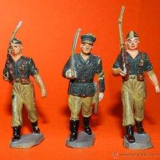 Figuras de Goma y PVC: PECH HERMANOS, TRES LEGIONARIOS DE GOMA DESFILANDO, TAL COMO SE VE EN LAS FOTOGRAFIAS PUESTAS.. Lote 51137977