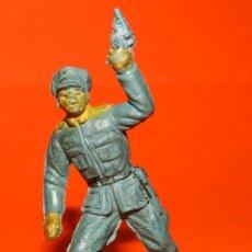 Figuras de Goma y PVC: SOLDADO ALEMAN EN GOMA DE PECH, TAL COMO SE VE EN LAS FOTOS PUESTAS.. Lote 51142572