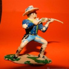 Figuras de Goma y PVC: SOLDADO SEPTIMO DE CABALLERIA DE REAMSA, DE PLASTICO, TAL COMO SE VE EN LAS FOTOGRAFIAS PUESTAS.. Lote 51151233