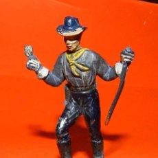 Figuras de Goma y PVC: SEPTIMO DE CABALLERIA DE JECSAN DE GOMA, SERIE DE LOS DESCABEZADOS, TAL COMO SE VE EN LAS FOTOGRAFIA. Lote 51151581