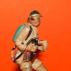 Figuras de Goma y PVC: SOLDADO INGLES DE GOMA DE PECH, TAL COMO SE VE EN LAS FOTOGRAFIAS PUESTAS.. Lote 51153676