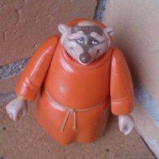Figuras de Goma y PVC: FIGURA DISNEY HEROES FAMOSA ROBIN HOOD FRIAR TUCK, FRAILE . Lote 147600516