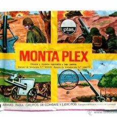 Figuras de Goma y PVC: SOBRE MONTAPLEX - VACÍO - KIOSKO AÑOS 70´S. Lote 177776822