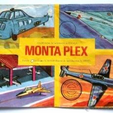 Figuras de Goma y PVC: SOBRE MONTAPLEX - VACÍO - KIOSKO AÑOS 70´S. Lote 194973412