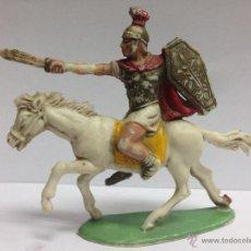 Figuras de Goma y PVC: FIGURA ROMANO DE LA SERIE ROMANOS Y CARTAGINESES O ANIBAL FABRICADO POR ROJAS Y MALARET. Lote 51226517