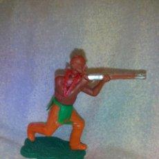 Figuras de Goma y PVC: FIGURA INDIO HARVEY SERIES LONE STAR,MADE IN ENGLAND. 5 CM . Lote 51323455