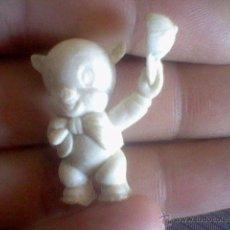Figuras de Goma y PVC: WARNER FIGURA PROMOCIONAL DUNKIN CHICLES O PASTELITOS CREO PORKY BLANCO . Lote 51381916