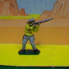 Figuras de Goma y PVC: FIGURA VAQUERO LONE STAR HARVEY - FIGURA PLASTICO AÑOS 60 MADE IN ENGLAND. Lote 51449187
