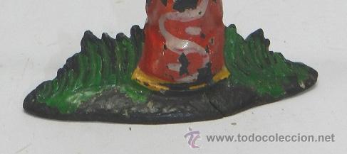 Figuras de Goma y PVC: TOTEM INDIO DE PECH, REALIZADO EN GOMA,TIENE UNA RAJITA EN LA BASE POR LA PARTE DE ATRAS, VER TODAS - Foto 3 - 51470175
