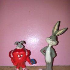 Figuras de Goma y PVC: BUGS BUNNY WARNER BROS FIGURAS MUNECOS PVC RARAS ANOS 90 GOMA. Lote 51470474