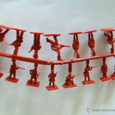 Figuras de Goma y PVC: MONTAPLEX 1 COLADA RUSIA DEL ZAR DEL SOBRE Nº 164 - COLOR ROJO. Lote 125153890