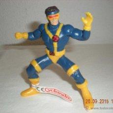 Figuras de Goma y PVC: FIGURA GOMA MARVEL # CICLOPE (X-MEN) YOLANDA. Lote 51492242