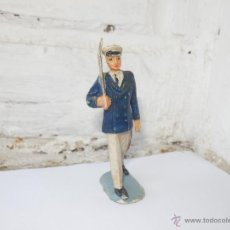 Figuras de Goma y PVC: SOLDADO PECH DESFILE OFICIAL EN GOMA. Lote 51524906