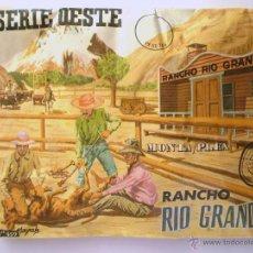 Figuras de Goma y PVC: SOBRE MONTAPLEX Nº 459 RANCHO RIO GRANDE - SOBRE CERRADO IMPECABLE - DIFICIL. Lote 184052767