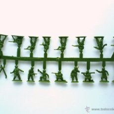 Figuras de Goma y PVC: MONTAPLEX - COLADA DE COREANOS DEL SOBRE Nº 162 COREA DEL SUR - VERDE OSCURO. Lote 51545181