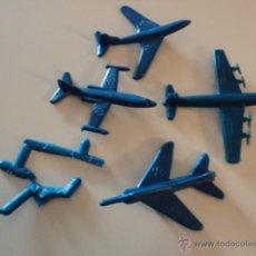 Figuras de Goma y PVC: LOTE COLECCION FIGURAS ORIGINALES AÑOS 70/80 PLASTICO MONTAPLEX? O SIMILAR R400. Lote 51564784