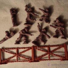 Figuras de Goma y PVC: LOTE COLECCION FIGURAS ORIGINALES AÑOS 70/80 PLASTICO MONTAPLEX? O SIMILAR R400. Lote 51564835