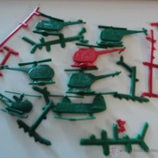 Figuras de Goma y PVC: LOTE COLECCION FIGURAS PLANAS ORIGINALES AÑOS 70/80 PLASTICO MONTAPLEX? O SIMILAR R400. Lote 51565114