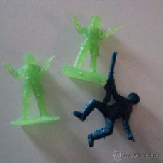 Figuras de Goma y PVC: LOTE COLECCION FIGURAS ORIGINALES AÑOS 70/80 PLASTICO MONTAPLEX? O SIMILAR R400. Lote 51565334