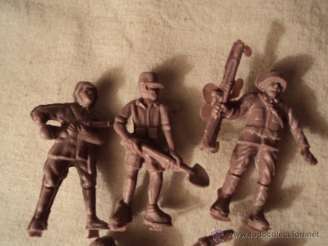Figuras de Goma y PVC: LOTE COLECCION FIGURAS ORIGINALES AÑOS 70/80 PLASTICO MONTAPLEX? O SIMILAR JAPONESES R400 - Foto 2 - 51566570