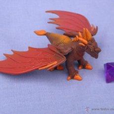 Figurines en Caoutchouc et PVC: LOTE COMBATE DE GIGANTES DRAGONES COMPUESTO POR DRAGÓN MINUM, PIEDRA Y CARTAS, DE UBISOFT. Lote 51585690