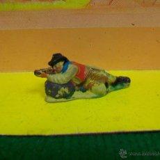 Figuras de Goma y PVC: ANTIGUO VAQUERO TEIXIDO - FIGURA TEIXIDOR AÑOS 50 . Lote 51589471