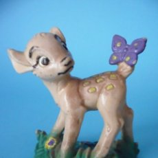 Figuras de Goma y PVC: BAMBI ANTIGUA FIGURA DE PVC DISNEY BULLYLAND MADE IN GERMANY. Lote 51599111