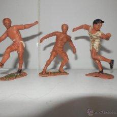Figuras de Goma y PVC: LOTE FUTBOLISTAS DE JECSAN AÑOS 50 REAL MADRID. Lote 51612892
