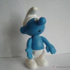 Figuras de Goma y PVC: FIGURA PITUFO MCDONALD´S 2002 ALTURA 10 CM APROX.. Lote 51652587